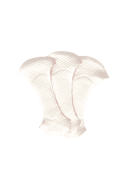 Organic coton removable pad
