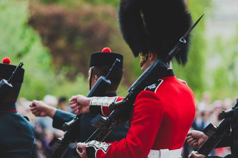 English Guard soldier